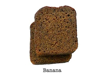 Banana Loaf Cake Mini