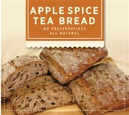 Tribeca Oven: Apple Spice Tea Bread Par Baked