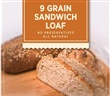 9 Grain Sandwich Loaf Par Bake