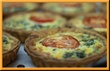 Spinach Tomato Swiss Quiche Large